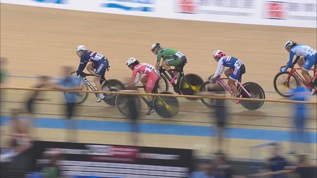 Baanwielrennen | Kirsten Wild wint wereldbeker Omnium in Hong Kong