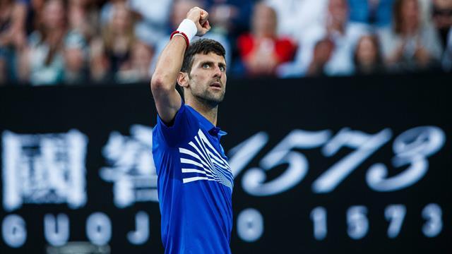 L'amortie parfaite de Nadal, le contre exceptionnel de Djokovic