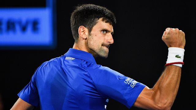 'History!' - Watch the moment Djokovic clinched a record Australian Open title