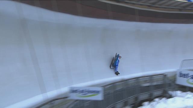 Gorbatcevich in nasty crash in Winterberg