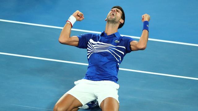 Celebrity Djokovic: un altro grido d'amore per il tennis nel nome del Grande Slam