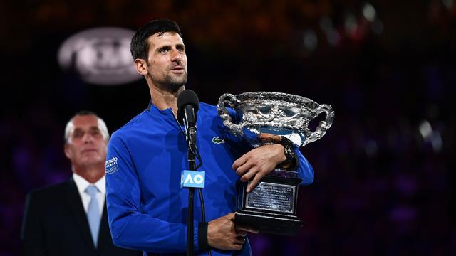 Djokovic etter sin 15. Grand Slam-tittel: – Trofeet betyr mer når jeg kan dele det med noen