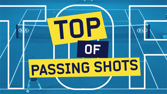 Top 10: Passing shots of Australian Open - Chardy and Evans pull off remarkable backhands