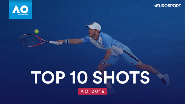 Top 10 Australian Open: i colpi più belli del torneo