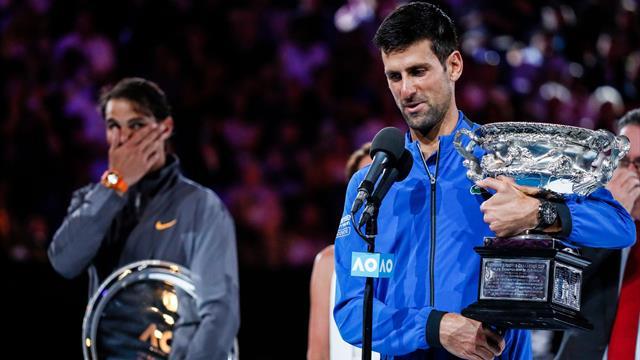 """Emotionale Siegesrede von Djokovic: """"Ich bin sprachlos"""""""