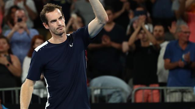 """Loin de Rome, Murray est officiellement devenu """"Sir Andy"""""""