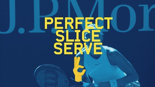 """""""60 Second Pro"""": Petra Kvitova spiega il servizio in slice"""