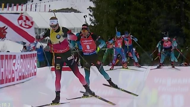 Fillon Maillet bags maiden victory in Antholz 15km mass start