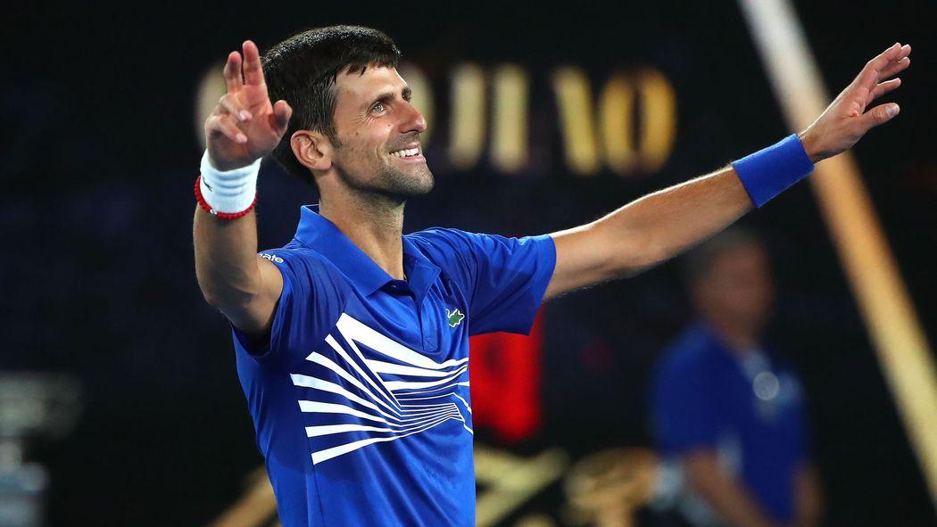 Australian Open 2019 Novak Djokovic Nimmt Den Grand Slam Ins