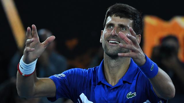 Djokovic reflects on 'amazing results, doubtful moments'