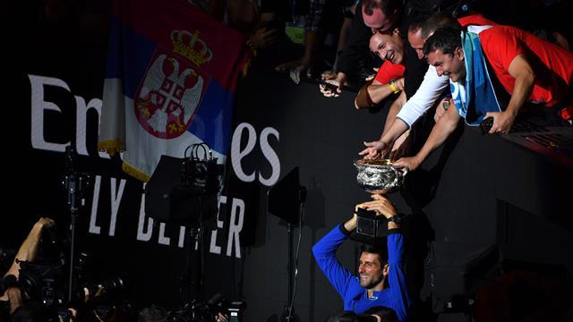 Djokovic, deux pas de géant dans l'Histoire