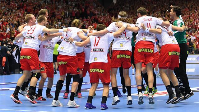 Le Danemark remporte l'or et ouvre son compteur au Mondial