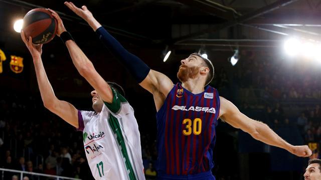 Liga ACB, Barcelona-Unicaja: Sólido liderato azulgrana (94-83)