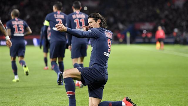 Il PSG illude il Rennes poi dilaga: 4-1 con doppietta di Cavani e acuti di Di Maria e Mbappé