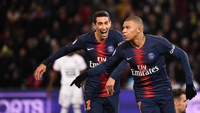 PSG : Verratti sur le banc face à Caen, Mbappé et Di Maria titulaires