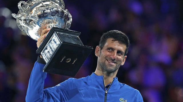 Djokovic has sights on 'ultimate challenge' of calendar Grand Slam
