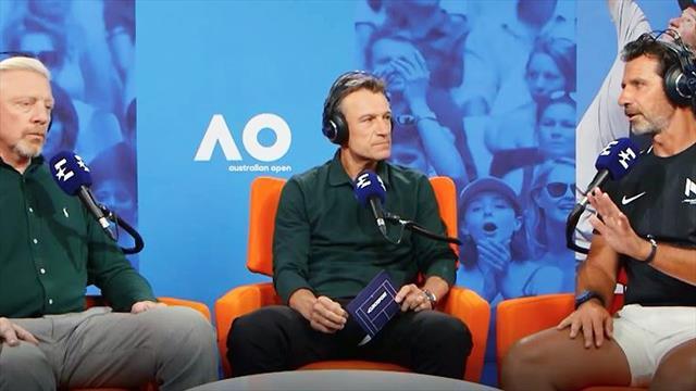 """Vodcast mit Becker und Mouratoglou über Coaching: """"Kyrgios würde besser spielen!"""""""