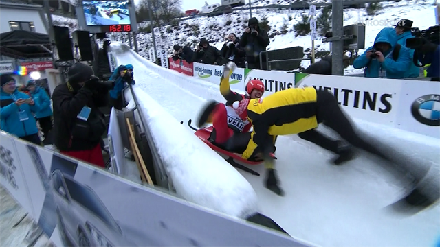 WATCH - The top five runs from Winterberg
