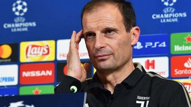 """Allegri define una """"locura"""" decir que el Juventus es favorito en """"Champions"""""""