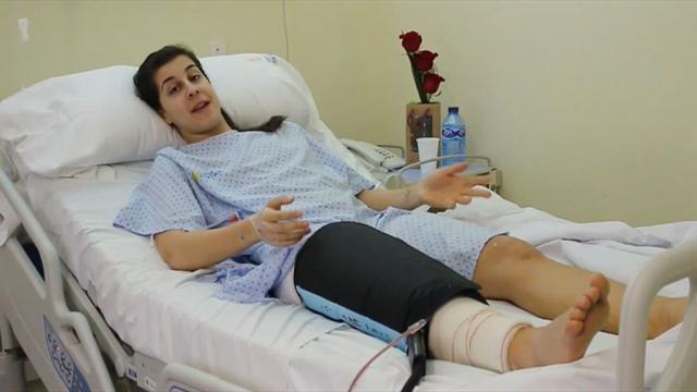 Carolina Marín es operada con éxito de una rotura de ligamento cruzado