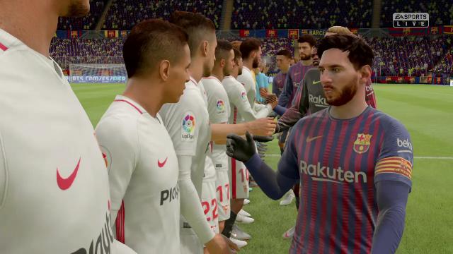 Copa del Rey Virtual: Así ha quedado el Barça-Sevilla