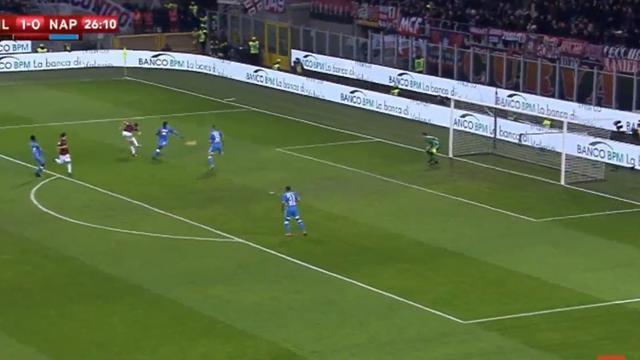Дебютный гол Пёнтека за «Милан», который он подкрепил магическим шедевром