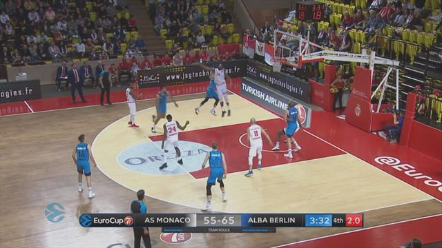 Highlights: AS Monaco-ALBA Berlino 61-75