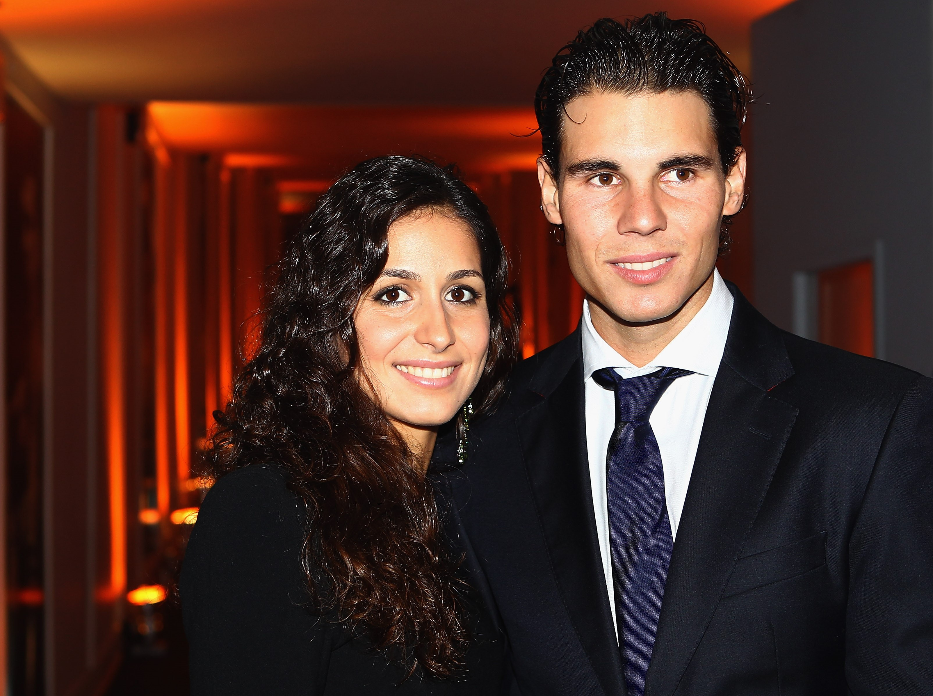 Rafael Nadal and Maria Perello