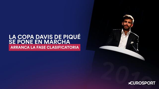 La Copa Davis de Piqué se pone en marcha: Arranca la fase clasificatoria