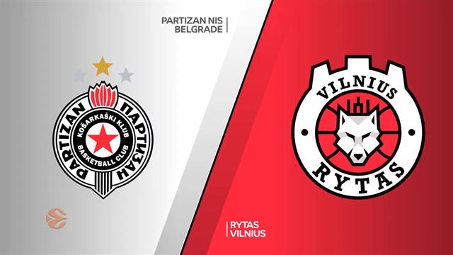 Highlights: Partizan NIS Belgrado-Rytas Vilnius 77-78
