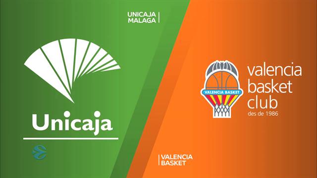 Highlights: Unicaja Malaga-Valencia Basket 69-72