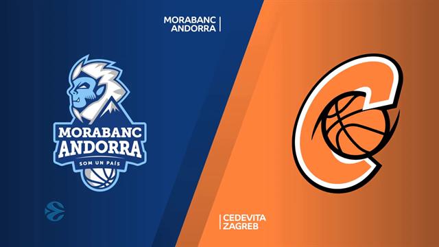 Highlights: MoraBanc Andorra-Cedevita Zagreb 87-81