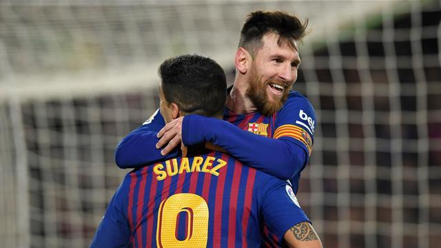 Messi rischia di saltare un altro Clasico con il Real Madrid: l'argentino fermo per una contrattura