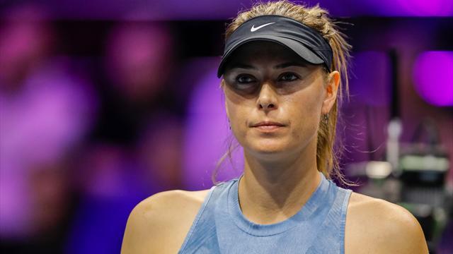 Sharapova ne sera pas à Roland