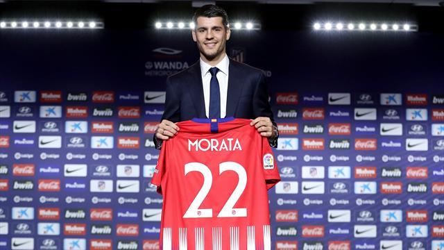 L'Atlético avec un duo Griezmann-Morata en attaque