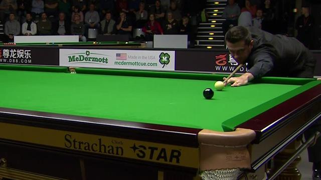 Selby narrowly misses 147 break