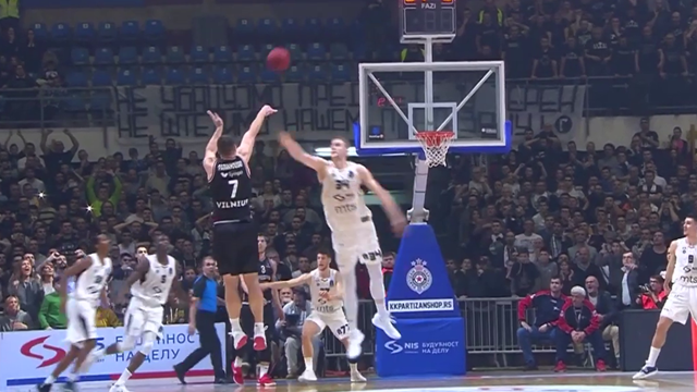 EuroCup, Round 5 MVP: Artsiom Parakhouski