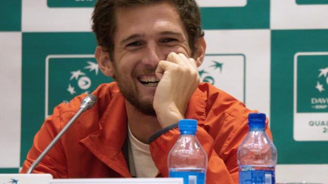 Alexandr Bublik y Joao Sousa abren la primera jornada de la eliminatoria