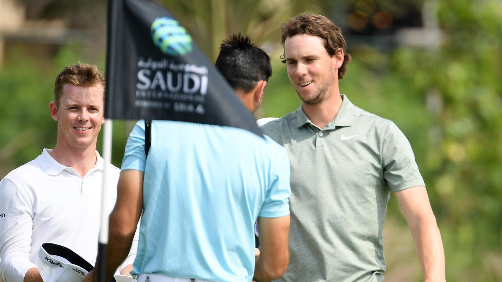 Golf News Thomas Pieters Sets Pace At Saudi International Justin
