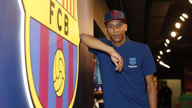 """Todibo se dit prêt à """"apprendre et à progresser"""" au Barça"""