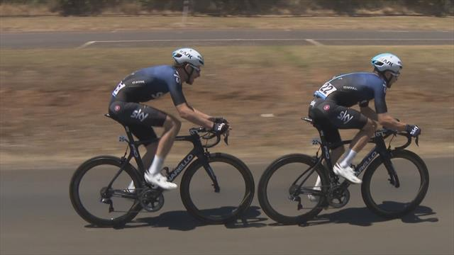 Doull and Rowe ease into first and second place for Sky on Stage 3
