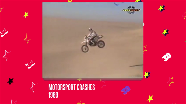 #Eurosport30 - Throwback 1989: Epic motorsport crashes