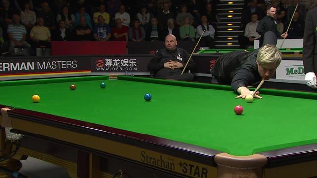 Robertson makes sparkling century