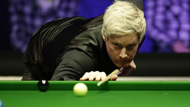 Robertson thumps Bingham as Gilbert edges out Selby in Berlin