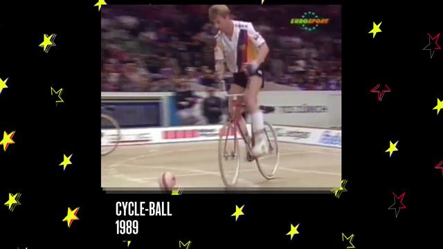 #Eurosport30 - Throwback 1989: Cycle-ball