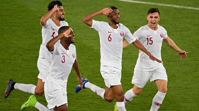 Qatar stun Japan to win first Asian Cup