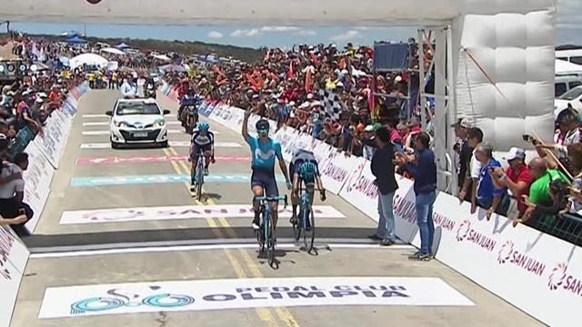 Winner Anacona holds on to win Stage 5 of Vuelta a San Juan