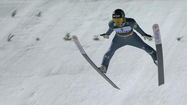 Zajc claims maiden ski jumping World Cup title