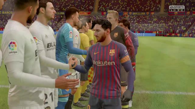 Liga Virtual: Así ha quedado el Barça-Valencia