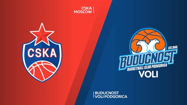 Highlights: CSKA Mosca-Buducnost VOLI 99-69